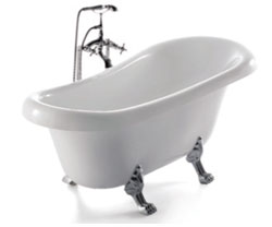 Vasca Da Bagno Usata Antica : Vasca da bagno stile antico top vasca da bagno con piedi